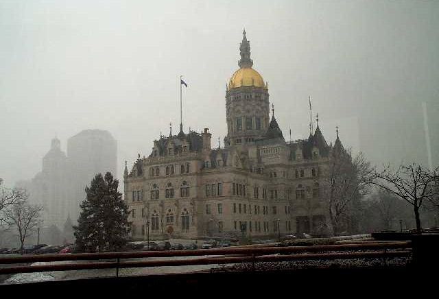 Foggy day at the Capitol