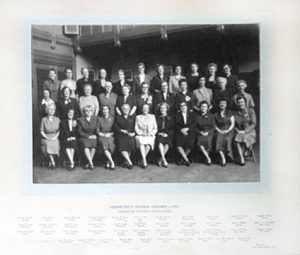 1927 Photo of Connecticut Order of Women Legislators (OWLS)